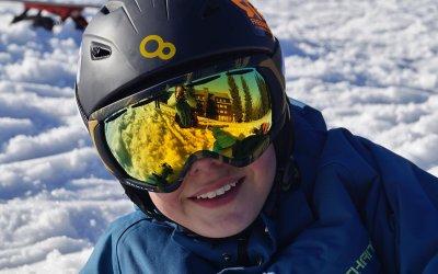 Categorieën lichtdoorlatendheid van de skibril
