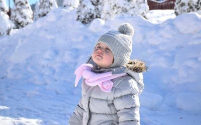 Wintersport tijdens de schoolvakantie