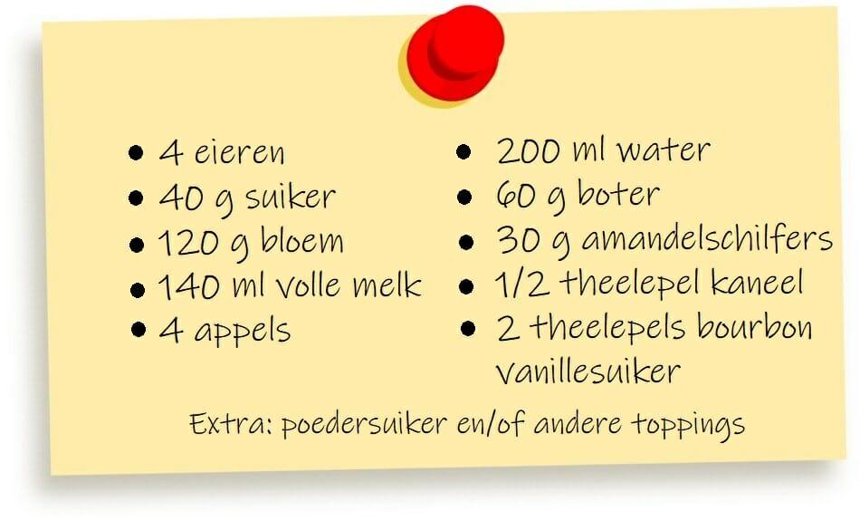 Kaiserschmarrn gekarameliseerd recept