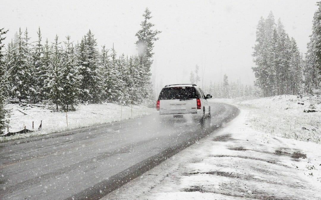 5 Tips voor rijden met gladheid en sneeuw
