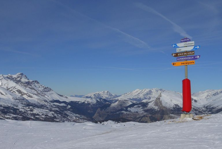 Wintersport in SuperDévoluy